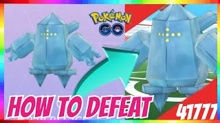HOW TO DEFEAT REGICE / COUNTERS / MAX IV in Pokemon Go!