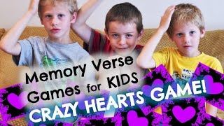 Crazy Hearts Bible Game for Kids