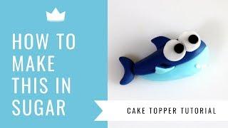 Baby Shark Cake Topper Tutorial