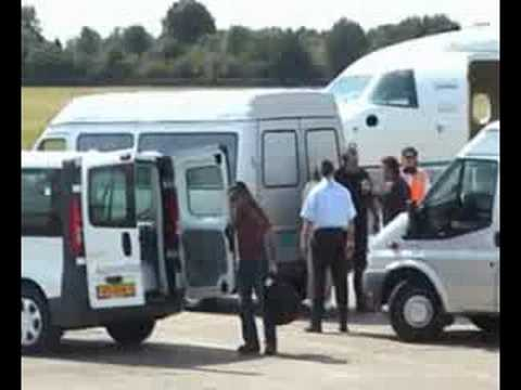 Iron Maiden arrives Assen Holland