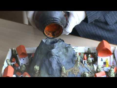Как сделать вулкан дома из чего