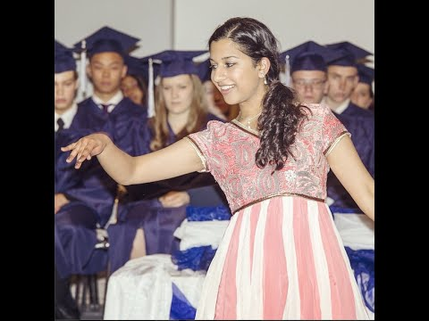 Flamenco - Kathak Fusion Dance Performance at Graduation