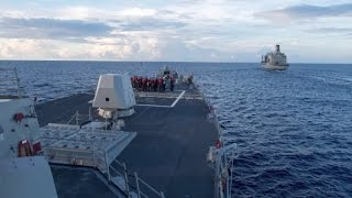 US destroyer in South China Sea