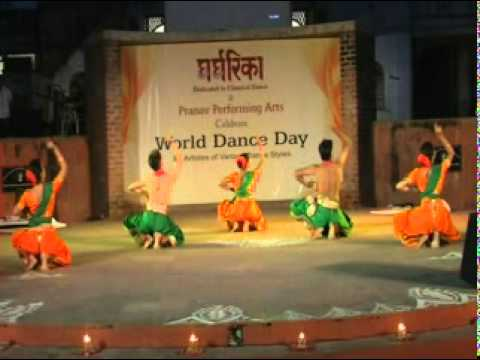 ganesha stuti performed at world dance day 2011