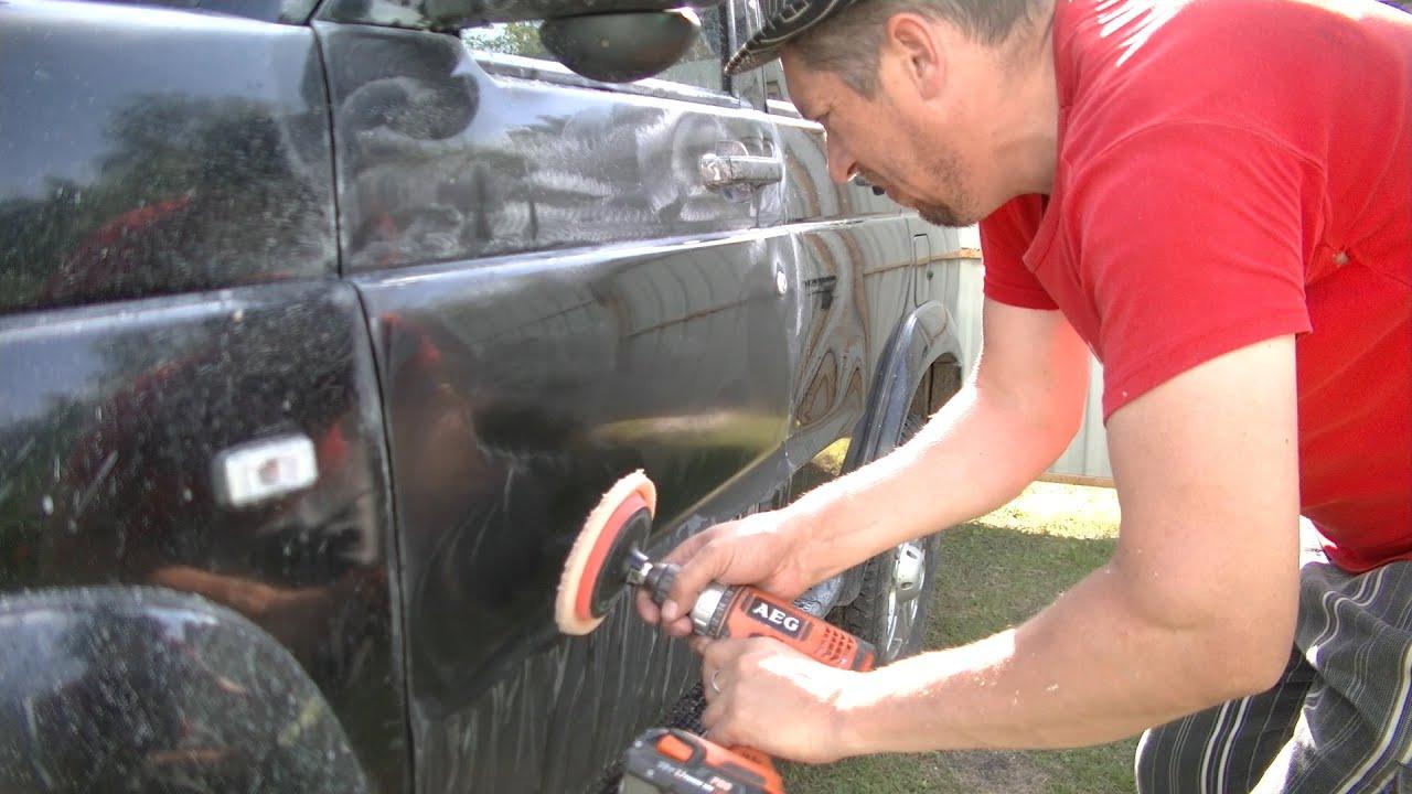 Ошибки при покраске автомобиля своими руками