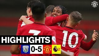 U23 HIGHLIGHTS | West Brom 0-5 United | The Academy