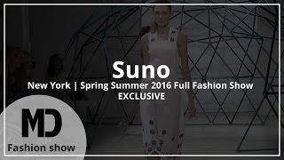 Suno | Spring Summer 2016 Full Fashion Show | Exclusive