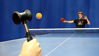 Can you play ping pong with a MEAT HAMMER?