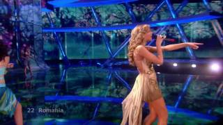 [HD] Elena Gheorghe - The Balkan Girls (Eurovision Song Contest 2009) + lyrics Romania