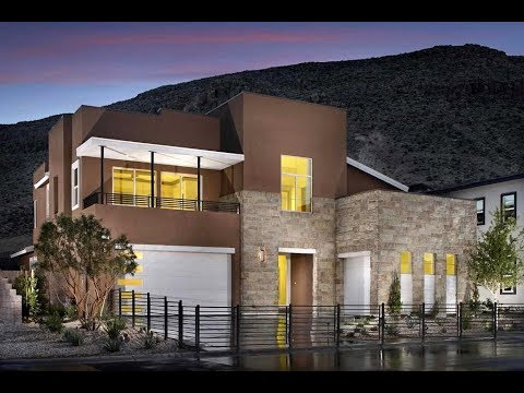 MyHeaven @ $660,500 Summerlin NV: Modern Residence 4C Home by Pardee Homes, Terra Luna, The Cliffs