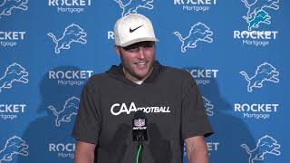 Matthew Stafford on winning despite need to improve
