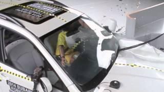 CRASH TEST Small SUVs: IIHS Small Overlap Test Results
