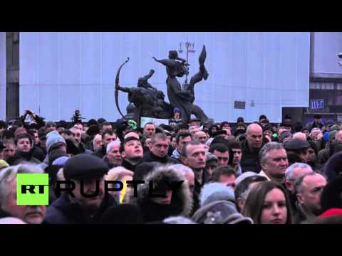 Ukraine: Anti-govt. protest on Maidan Square set to enter third day
