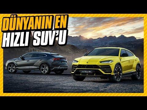 Dünyanın En Hızlı SUV Modeli: Lamborghini URUS