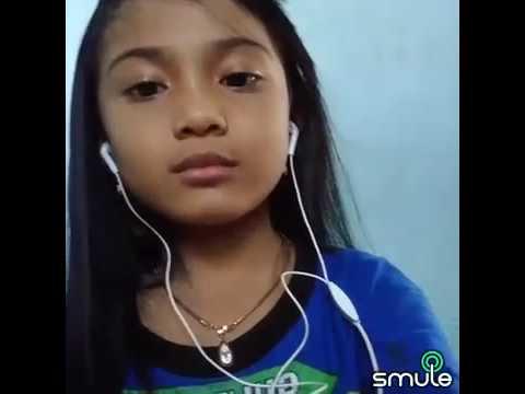 Anak Tk nyanyi smule  'korbane wong tuwo'