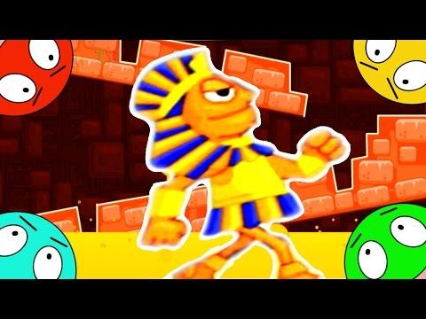 🐾 Побег из пирамиды - 4 серия - последняя - Игра мультик –на основе Вторая жизнь ФАРАОНА