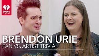 Download Lagu Brendon Urie Challenges Super Fan In Trivia About Himself | Fan Vs. Artist Trivia Gratis STAFABAND