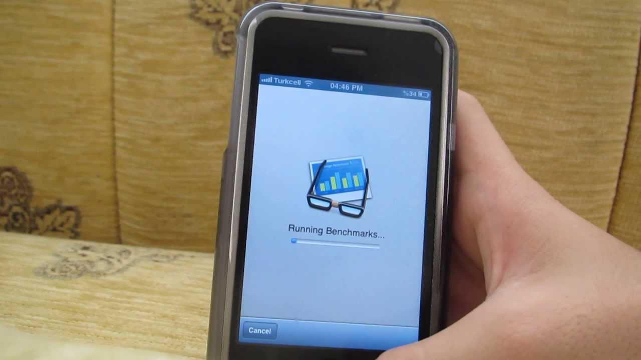 İPhone 3GS Geekbench Test
