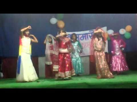 Gurukul Koeriyapar ,mau Annual Function 2014 Meri Chunar Ud Ud Jaye Kids Dance Performance video