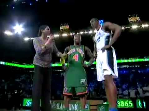 dwight howard dunks on lebron. Nate Robinson (Superman#39;s Kryptonite) Defeats Dwight Howard In This Years Slam Dunk Contest and Lebron James Declares For 2010 NBA Slam Dunk Contest!