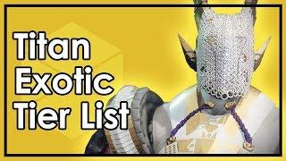 Destiny 2: The Best Titan Exotic Armor - Datto
