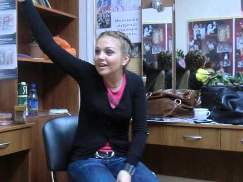 Интервью Марины Девятовой в Пензе