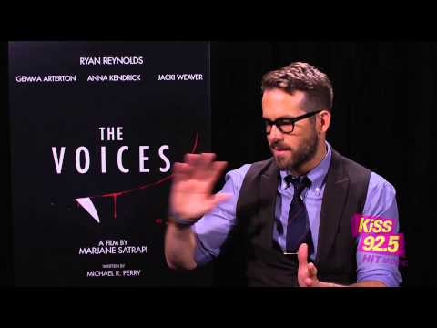 TIFF 2014: Maurie interviews Ryan Reynolds - The Voices