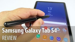 Samsung Galaxy Tab S4 Review (LTE, Snapdragon 835 Tablet with S Pen)