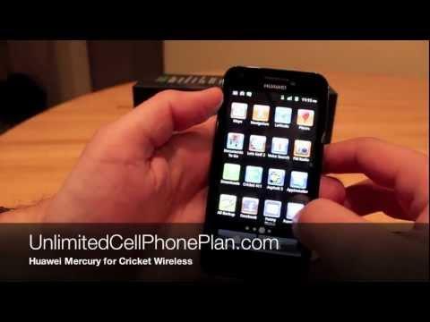 Huawei Mercury Review for Cricket Wireless - Huawei GLORY