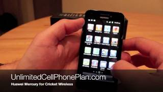 Huawei Mercury Review for Cricket Wireless - Huawei GLORY