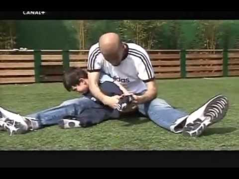 Zidane And His Son Zidane And His Sons Playing