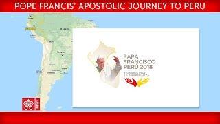 Pope Francis - Apostolic Journey to Peru - Meeting with Authorities 2018-01-19