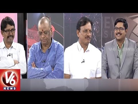 Special Debate On Second Phase Of Congress Bus Yatra | Good Morning Telangana | V6 News