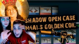 SHADOW CASE OPENING - M4A1-S Golden Coil / Dropando M4A1-S com 1 caixa THANKS GABEN ♥