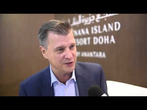 ATM 2016: Thomas Fehlbier, cluster general manager Doha, Banana Island Resort Doha by Anantara