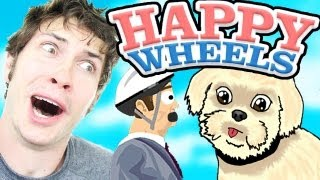 Happy Wheels - MY DOG PLAYS