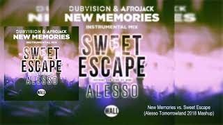 New Memories vs. Sweet Escape (Alesso Tomorrowland 2018 Mashup) [Josue R & Nexo Remake]