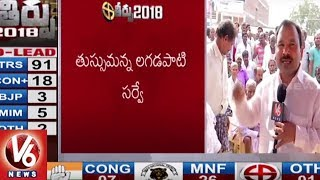 Mangamuru Village Public Response Over Telangana Assembly Election Results 2018  - netivaarthalu.com
