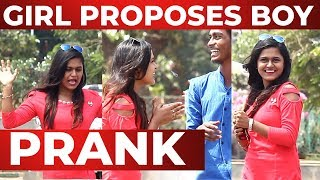 CUTE Girl Proposing to Boys in Public | Valentine's Day Prank | Chennai Prank 2019