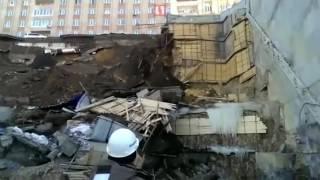 Обрушение дороги во Владивостоке