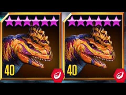 RAJASTEGA  MAX LVL 40 - New LEGENDARY HYBRID - Jurassic World The Game