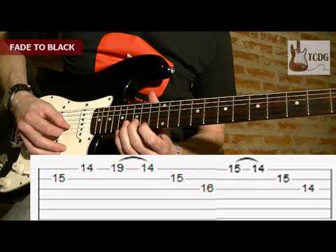 Fade to Black (Metallica) Guitar Tab by Mario Freiria (Intro Solo) TCDG