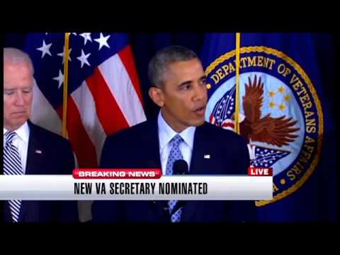 President Obama nominates Robert McDonald for VA secretary