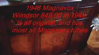 1948 Magnavox Windsor -  An elegant example of 1940's craftsmanship