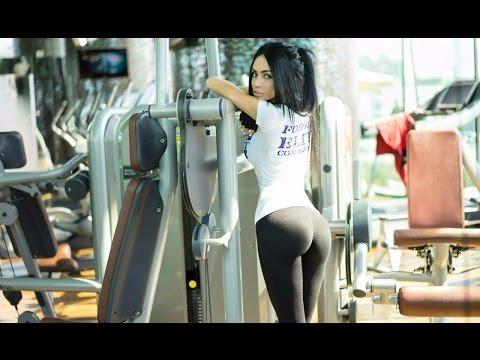 Фитнес в зале  Фитоняшки мотивация