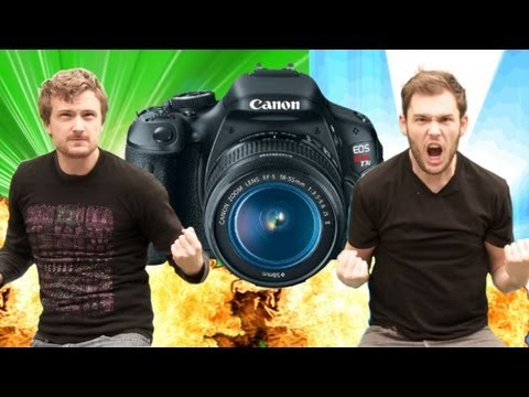 Corridor Digital vs Canon T3i - Tech Assassin: MP7 & G36 RatedRR Slow Motion Camera