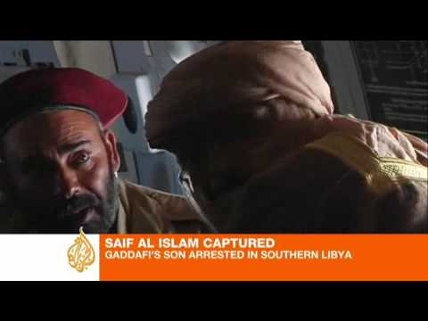 Saif al-Islam captured in Libya's south