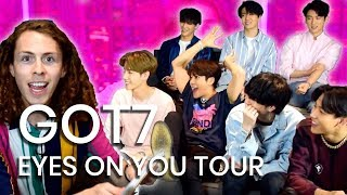 GOT7 on their EYES ON YOU Tour and K-Pop's Cultural Impact