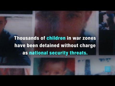 Un informe apunta contra la detención y torturas en menores de edad en zonas de conflictos armados