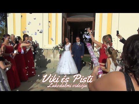 Viki és Pisti lakodalmi videója